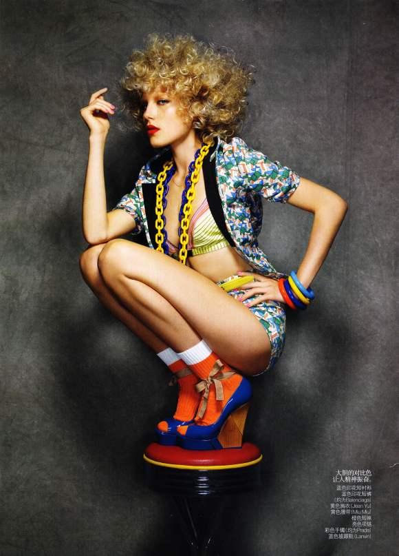 Dree Hemingway for Vogue China January 2011 5