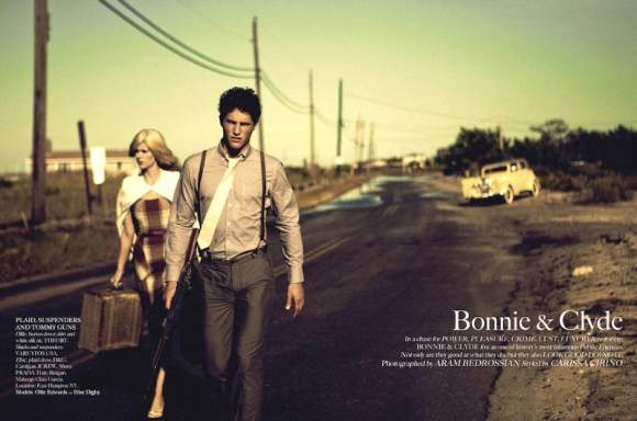 Elise Digby for Bonnie and Clyde