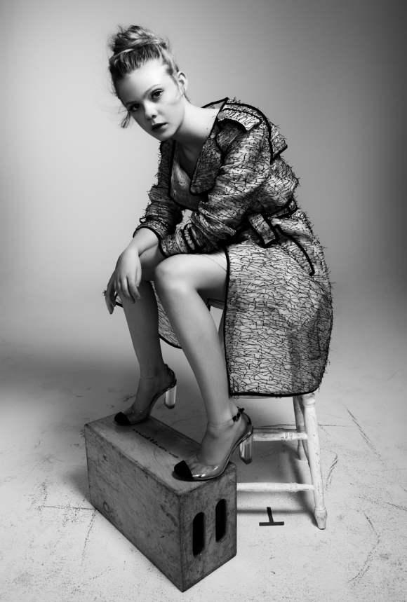 Elle Fanning for Interview December 2010 3