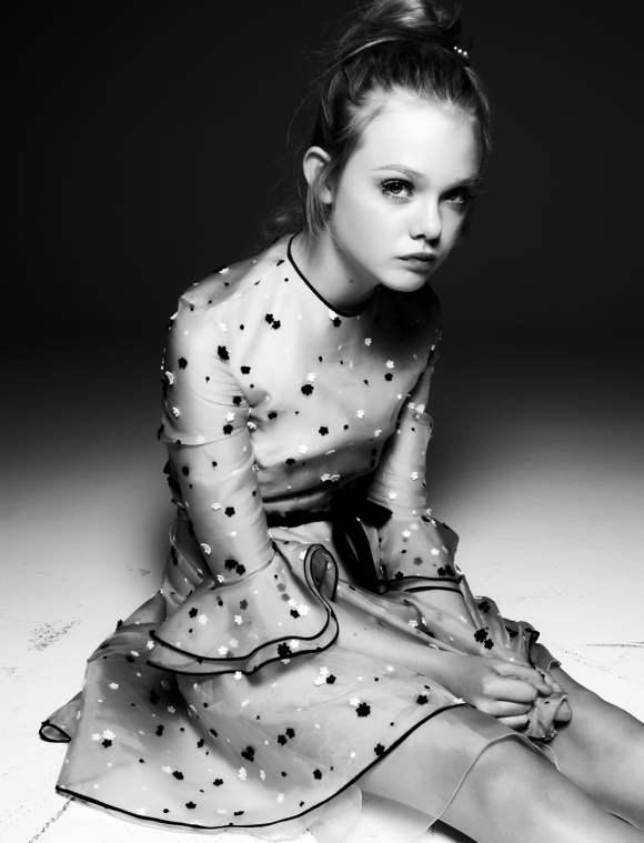 Elle Fanning for Interview December 2010