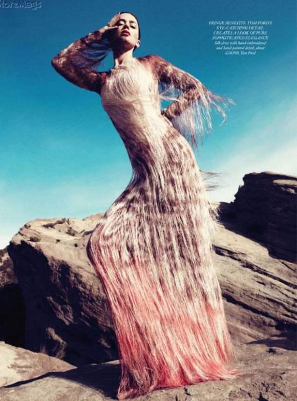 Emily Blunt Harpers Bazaar UK January 2011 7