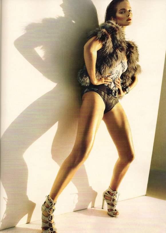 Eniko Mihalik Vogue Italia December 2010 3