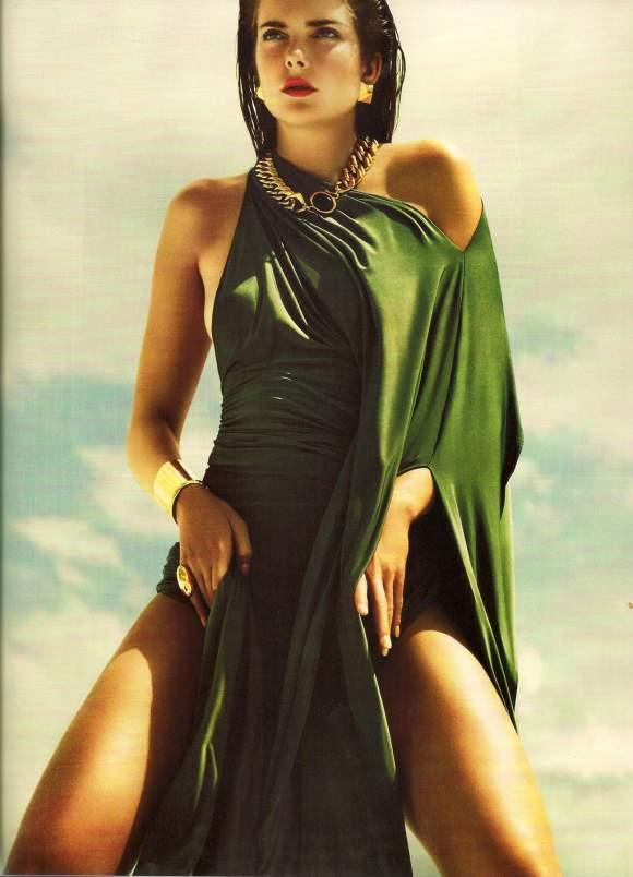 Eniko Mihalik Vogue Italia December 2010 6