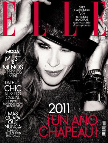 Erin Wasson for Elle Spain January 2011
