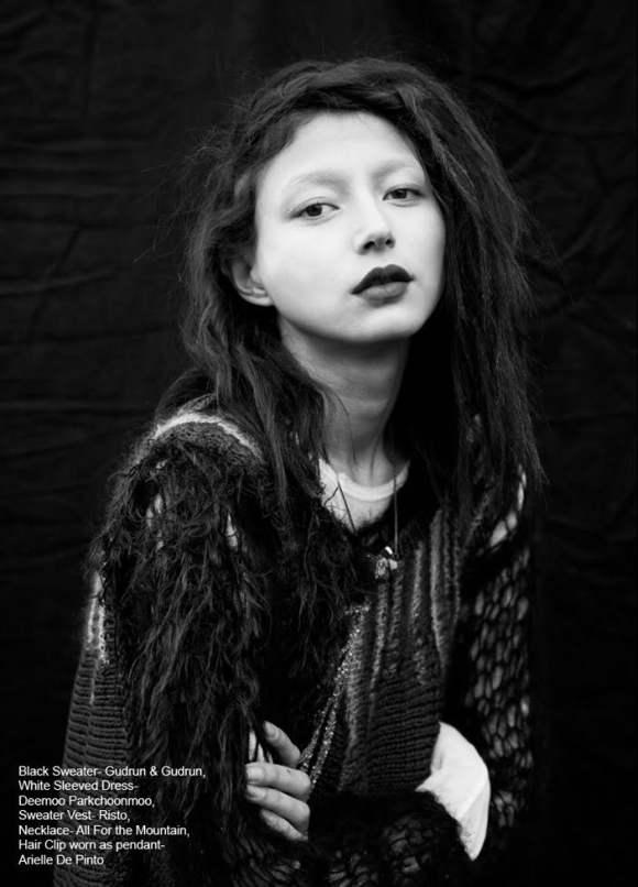 Evelina Mambetova for Grit Magazine December 2010 2