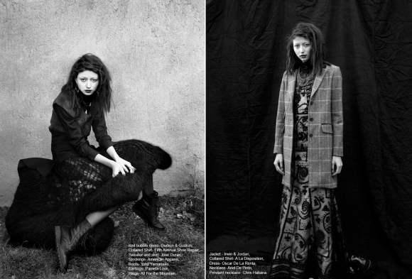 Evelina Mambetova for Grit Magazine December 2010 4