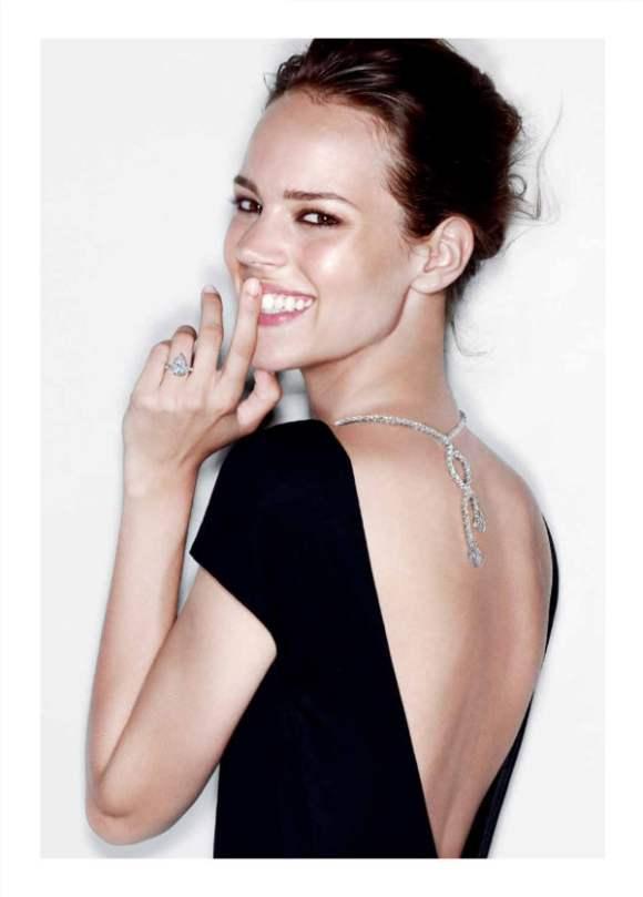 Freja Beha Erichsen for Harry Winston Jewelry 2010 Campaign 6