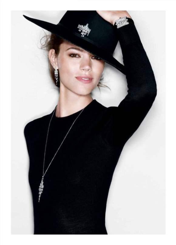 Freja Beha Erichsen for Harry Winston Jewelry 2010 Campaign