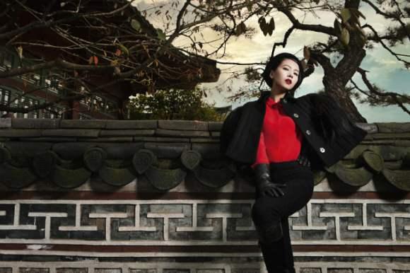 Gao Yuanyuan for Harpers Bazaar China January 2011 2