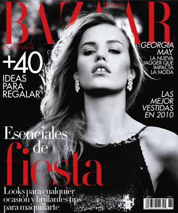 Georgia May Jagger Harpers Bazaar Mexico December 2010
