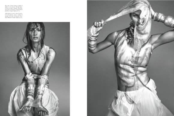 Gisele Bundchen Vogue Italia December 2010 3