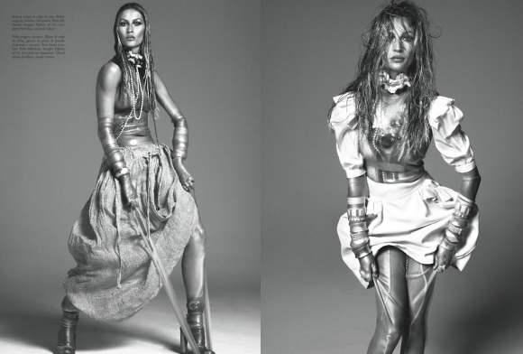 Gisele Bundchen Vogue Italia December 2010 8