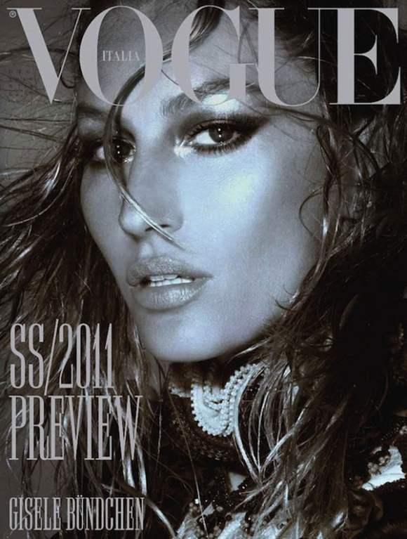 Gisele Bundchen Vogue Italia December 2010