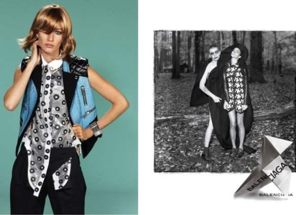 Gisele Bundchen for Balenciaga S S 2011 Campaign Preview