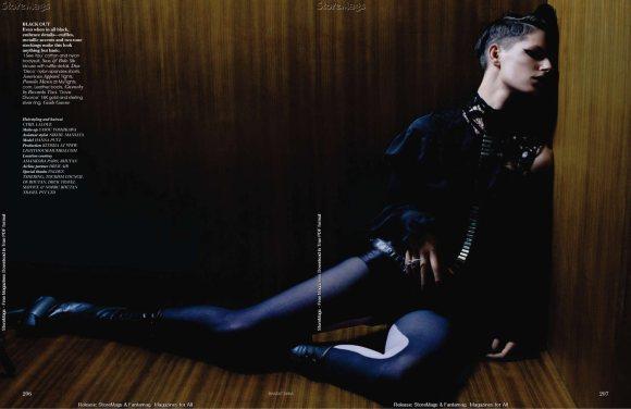 Hanna Putz for Vogue India December 2010 11