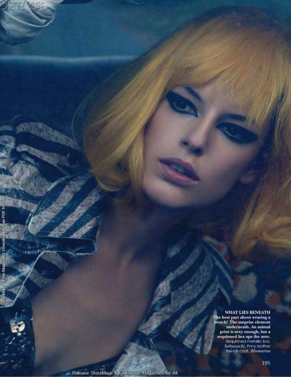 Hanna Putz for Vogue India December 2010 2