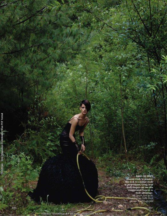 Hanna Putz for Vogue India December 2010 3