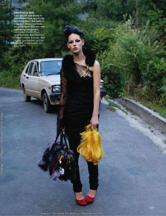 Hanna Putz for Vogue India December 2010 4