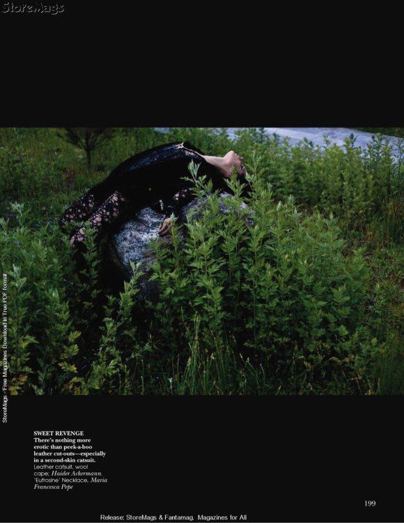 Hanna Putz for Vogue India December 2010 6