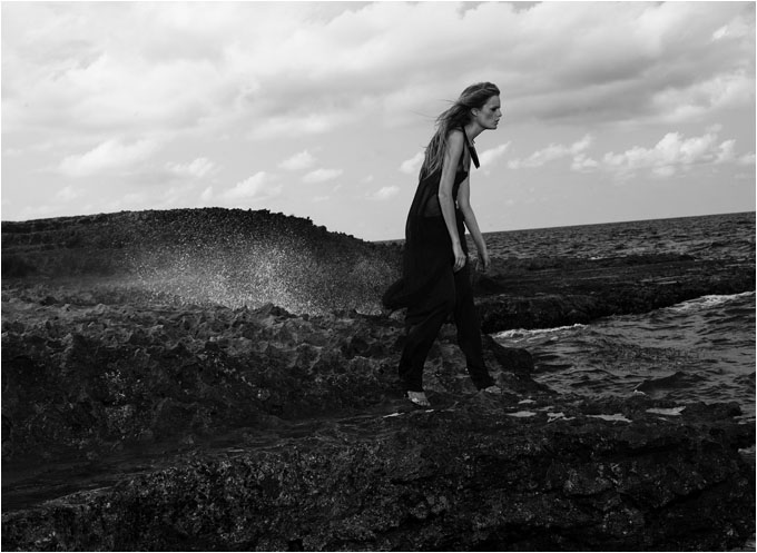 Hanne Gaby Odiele for Esteban Cortazar Campaign 3
