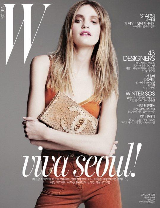 Heidi Mount for W Korea January 2011