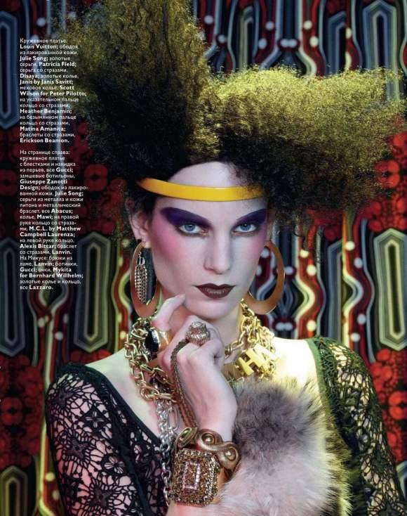 Iris Strubegger for Vogue Russia January 2011 3