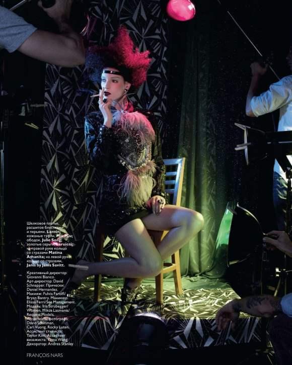 Iris Strubegger for Vogue Russia January 2011 5