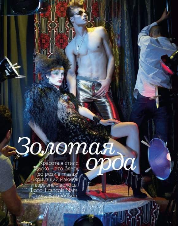 Iris Strubegger for Vogue Russia January 2011