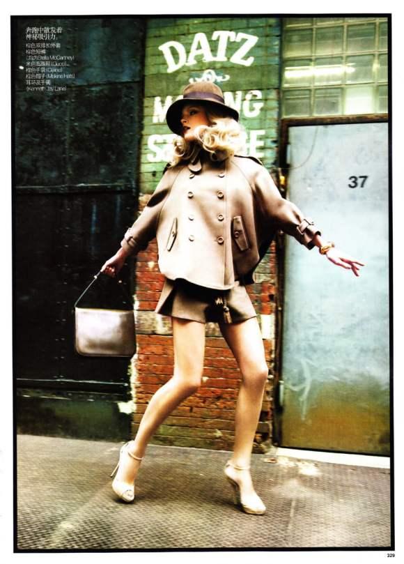 Jessica Stam for Vogue China January 2011 6