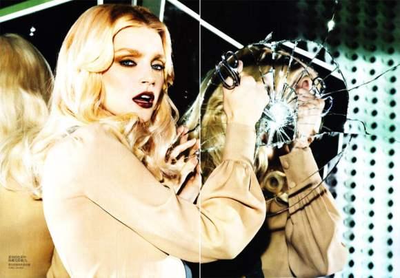 Jessica Stam for Vogue China January 2011 7