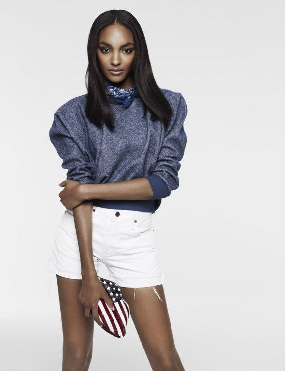 Jourdan Dunn for Vogue UK December 2010 3