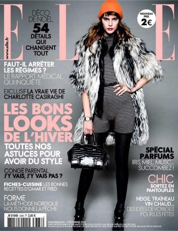 Juju Ivanyuk for Elle France December 2010