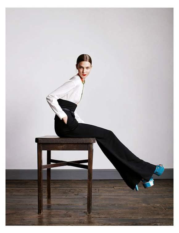 Karlie Kloss for Vogue UK January 2011 10