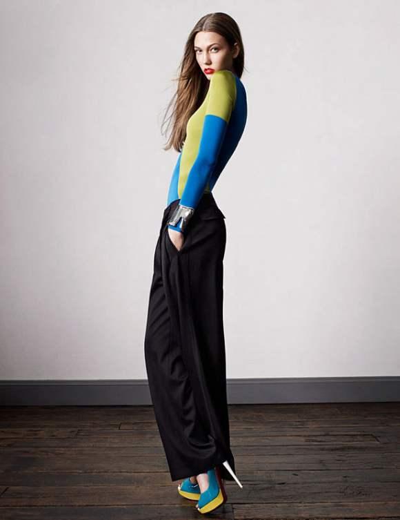 Karlie Kloss for Vogue UK January 2011 12