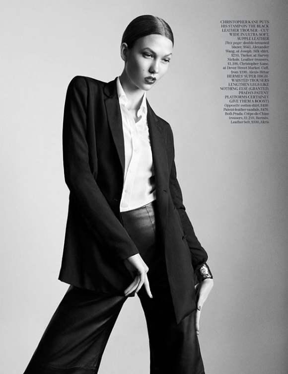 Karlie Kloss for Vogue UK January 2011 2