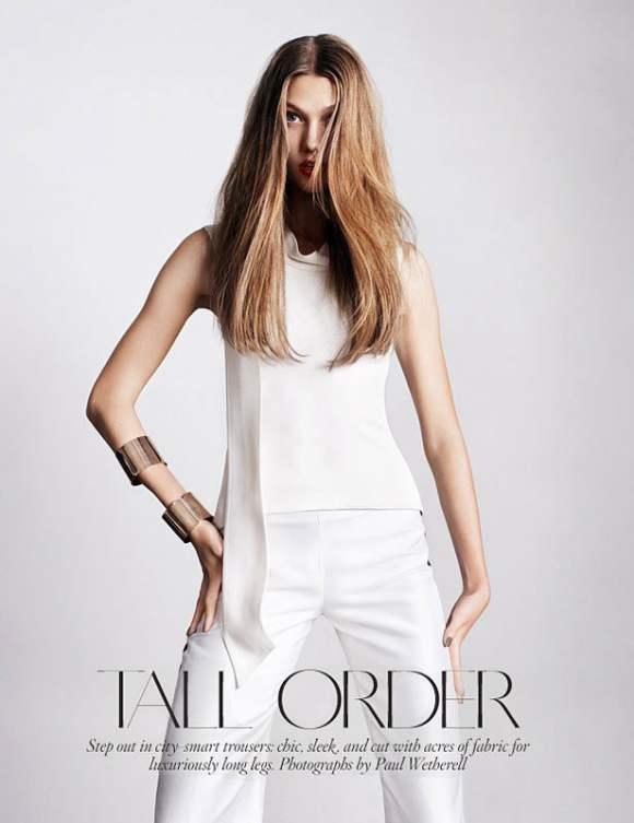 Karlie Kloss for Vogue UK January 2011 3