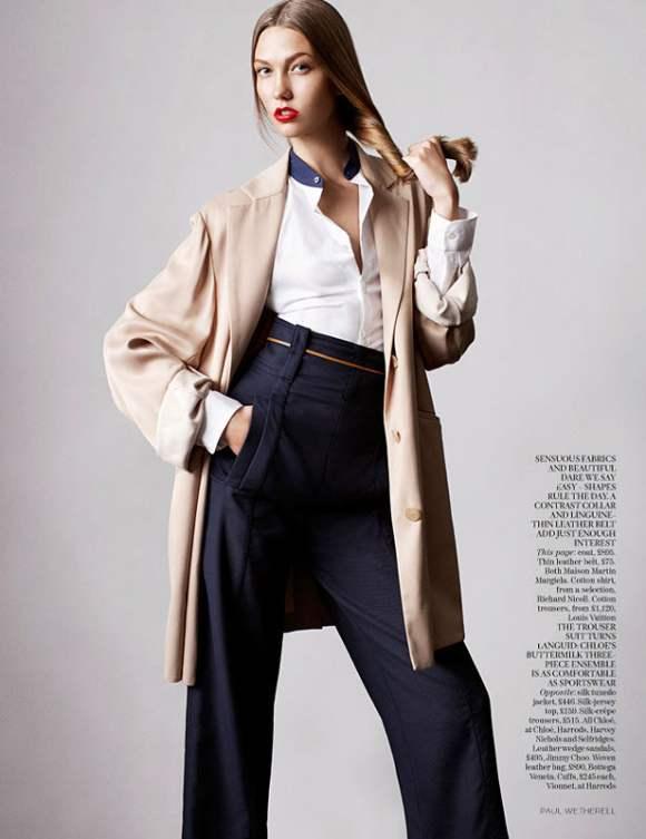 Karlie Kloss for Vogue UK January 2011 4