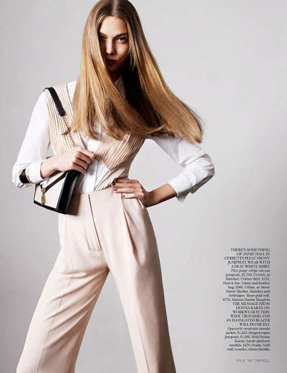 Karlie Kloss for Vogue UK January 2011 6