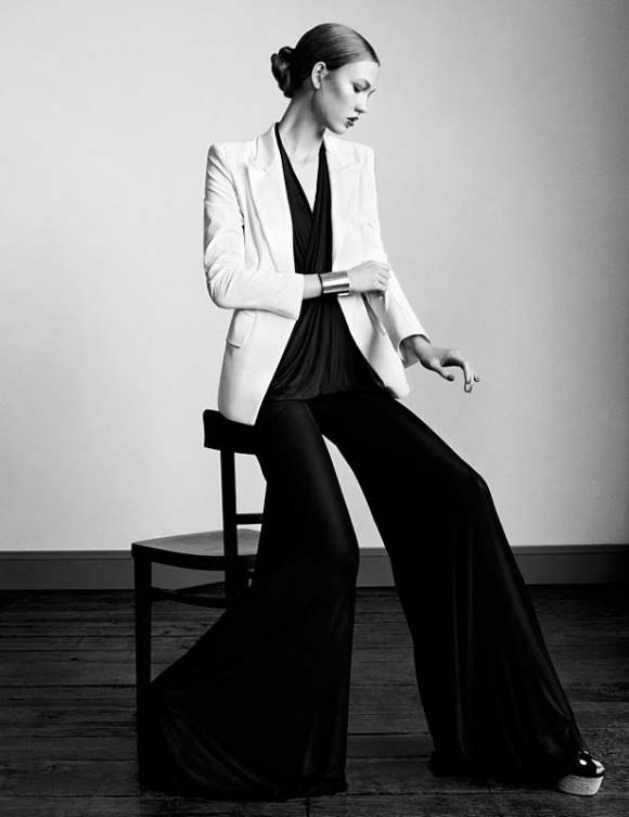 Karlie Kloss for Vogue UK January 2011 7