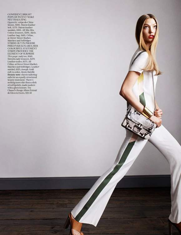 Karlie Kloss for Vogue UK January 2011 9