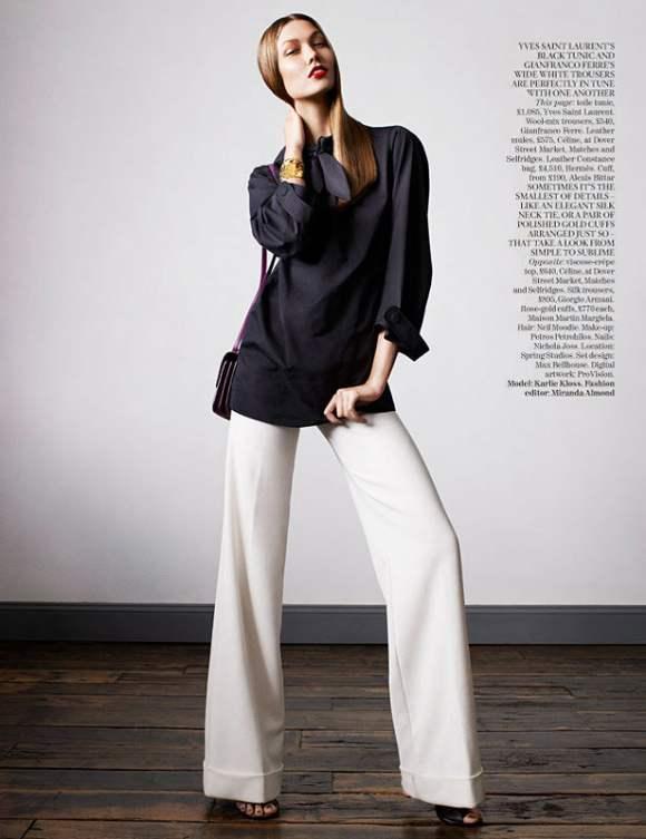 Karlie Kloss for Vogue UK January 2011