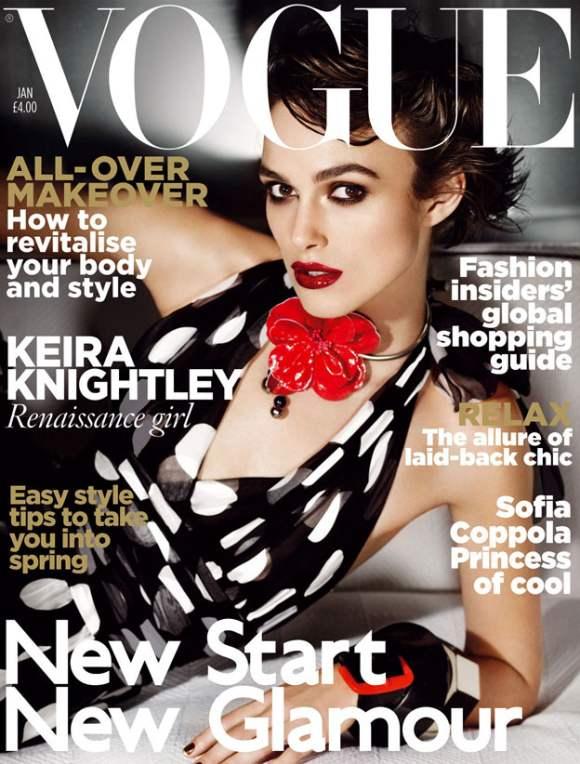Keira Knightley Vogue UK January 2011 2