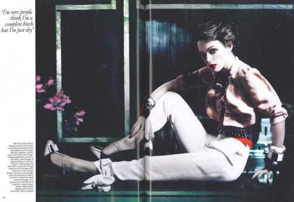 Keira Knightley Vogue UK January 2011 4