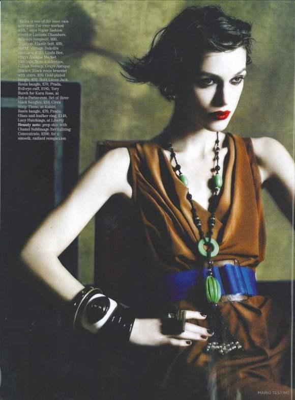 Keira Knightley Vogue UK January 2011 5