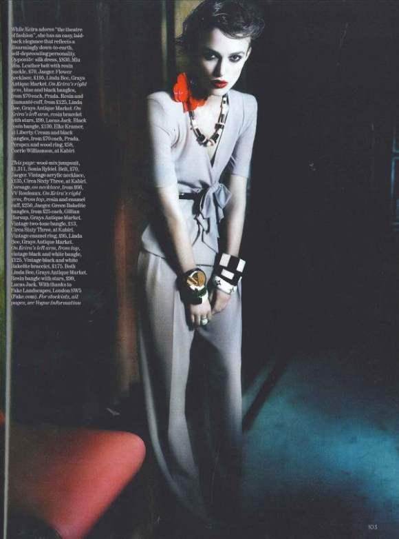 Keira Knightley Vogue UK January 2011 7