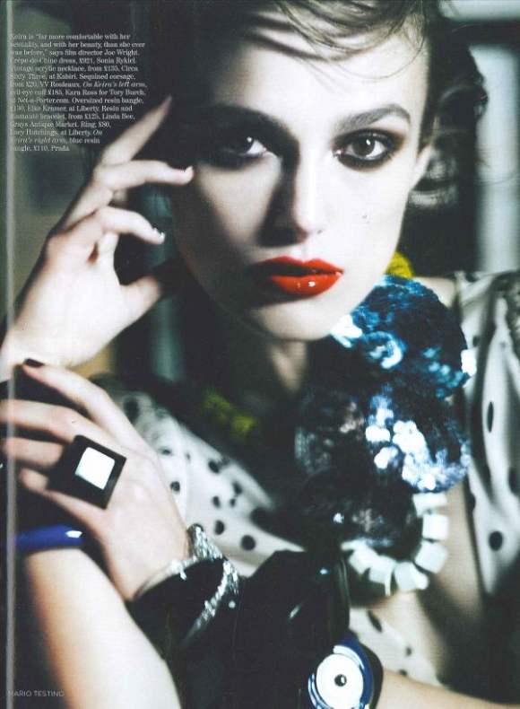 Keira Knightley Vogue UK January 2011