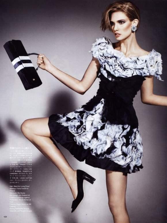 Kendra Spears Vogue Nippon January 2011 7