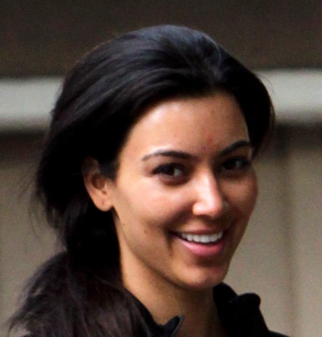 Kim Kardashian Without Makeup - Kim-k-without-makeup