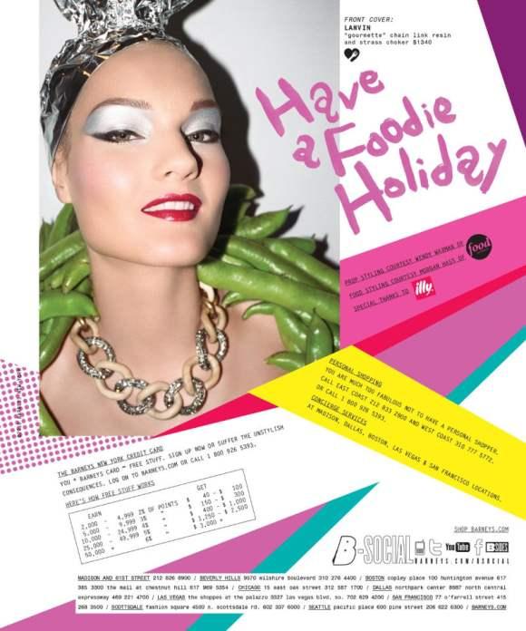 Kirsi Pyrhonen for Barneys Holiday 2010 Catalogue 12