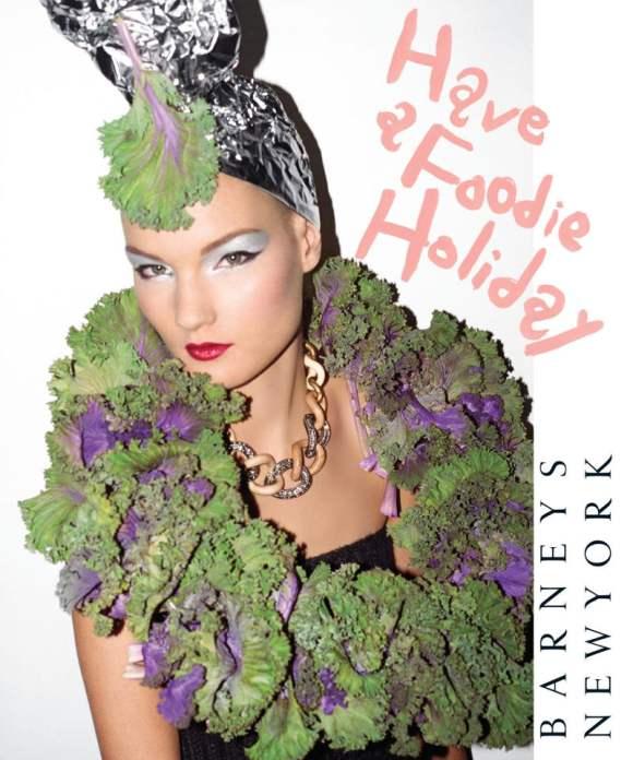 Kirsi Pyrhonen for Barneys Holiday 2010 Catalogue 2